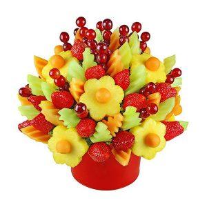 Piękny, pełen zdrowia podarunek - bukiety owocowe