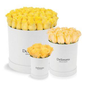 Słoneczne kompozycje z żółtymi kwiatami